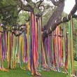Colorful Streamer Tree