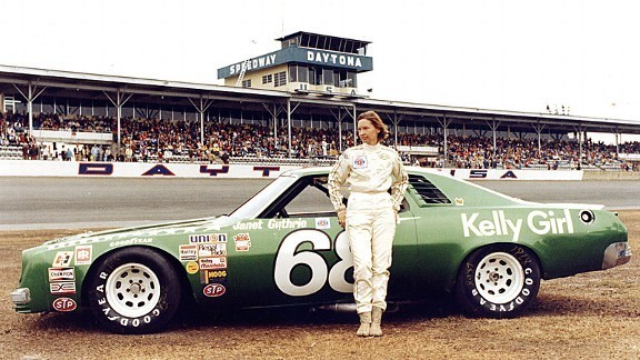 First Woman to Compete in the Indy 500, 1977