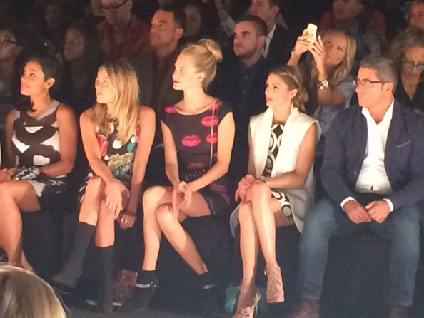 Star-Studded Front Row
