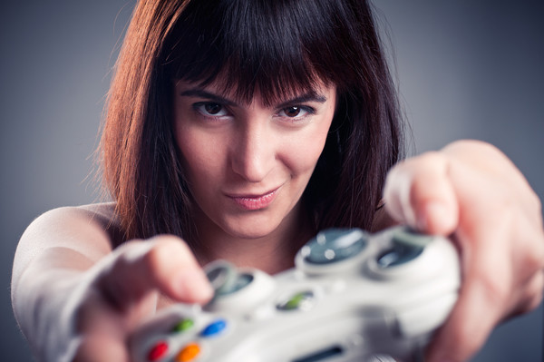 Play a video game