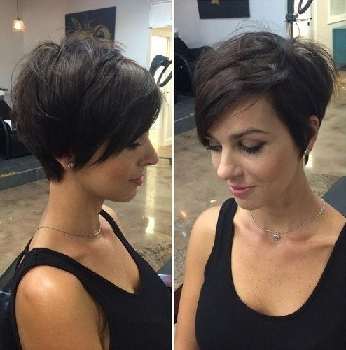 Short Layered Pixie Stylish Short Haircut Ideas From