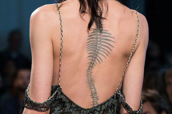 Gorgeous Runway Tattoos