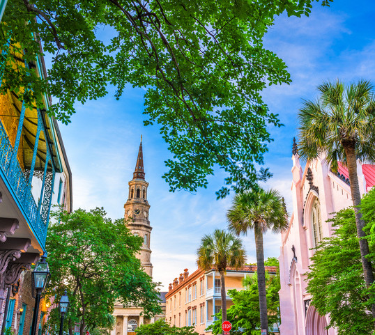The South: Charleston, South Carolina
