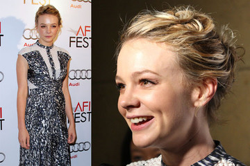 Carey Mulligan Debuts a Windswept 'Do at AFI Fest