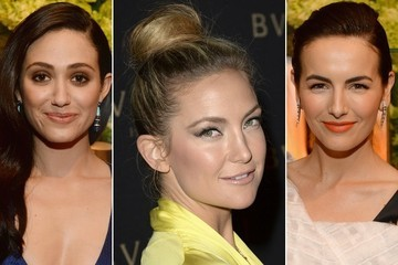 """Vote! Who Had the Prettiest Beauty Look at the """"Decades Of Glamour"""" Oscar Party?"""
