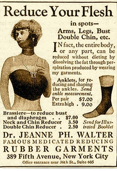 1920s: Diet Rubber Clothes