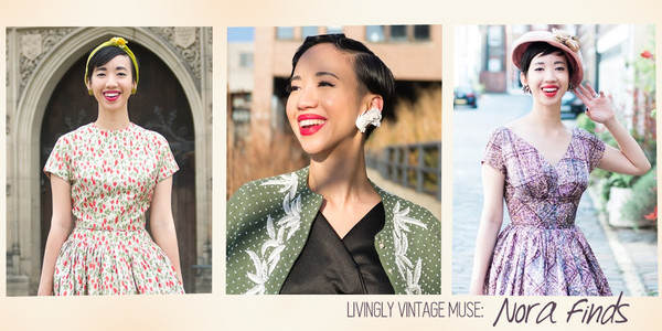 Vintage Muse: Nora of Nora Finds