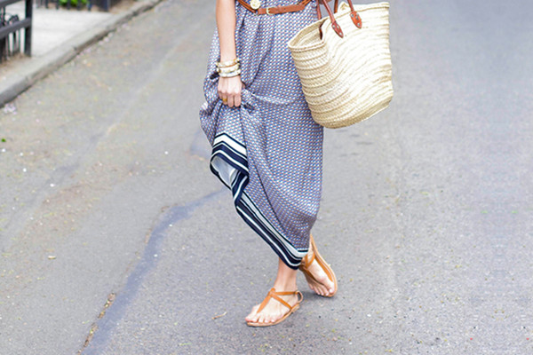 Maxi-Dress Outfit Ideas