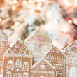 DIY Gingerbread Gift Wrapping