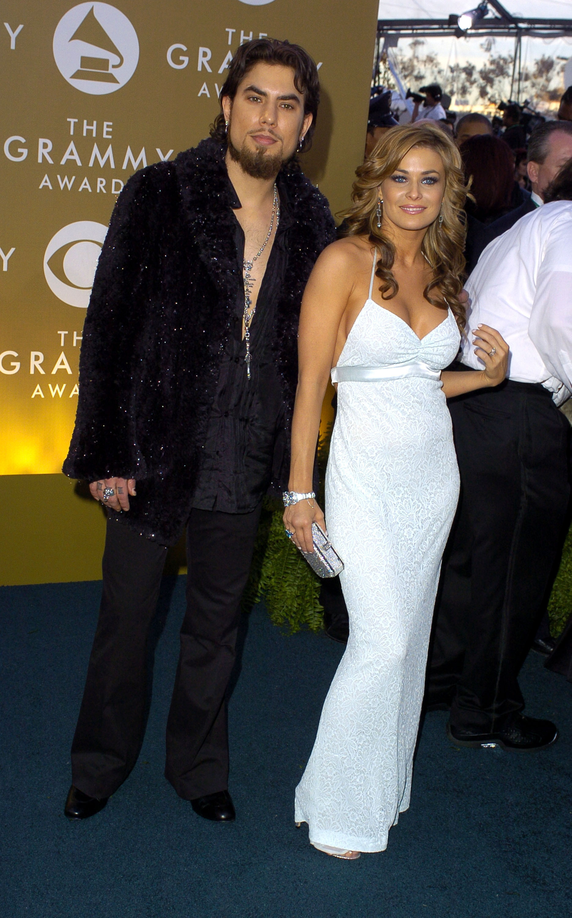 Dave Navarro And Carmen Electra 2004 Famous Grammy Couples You Forgot About Livingly