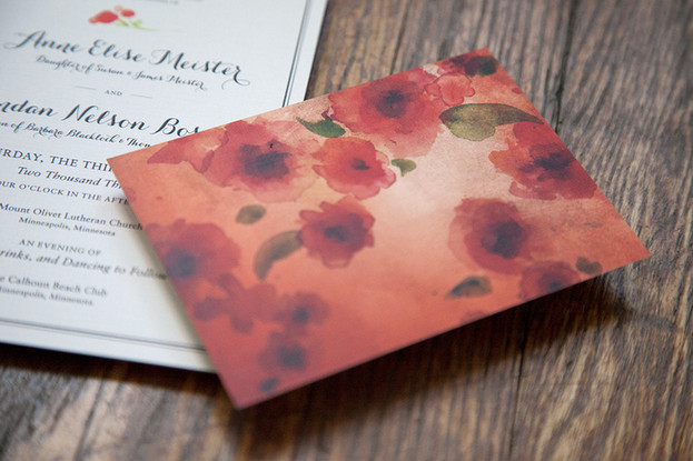 Wedding Invitations by Nancy Mccabe