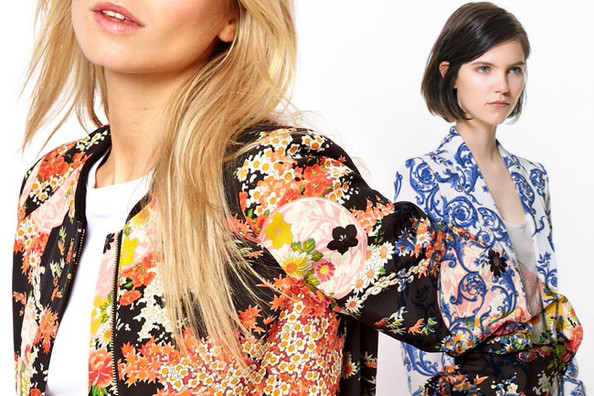 The 10 Cutest Print Jackets of the Season