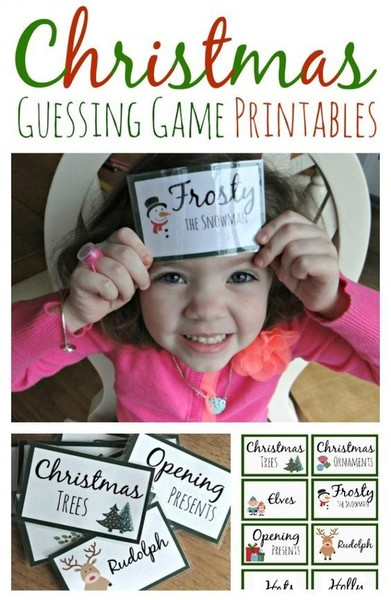 Create a Christmas guessing game