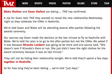 Blake and Gwen Are Official and I'm Officially Not Okay With It