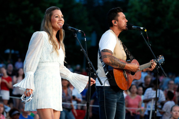 Colbie Caillat And Justin Young