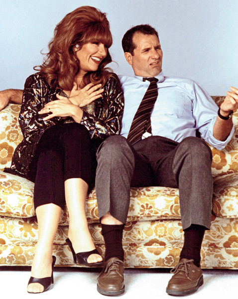 Al and Peg Bundy from 'Married with Children'