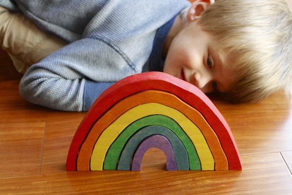 Get creative with rainbows