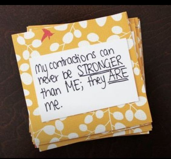 Ask guests to write birth affirmations