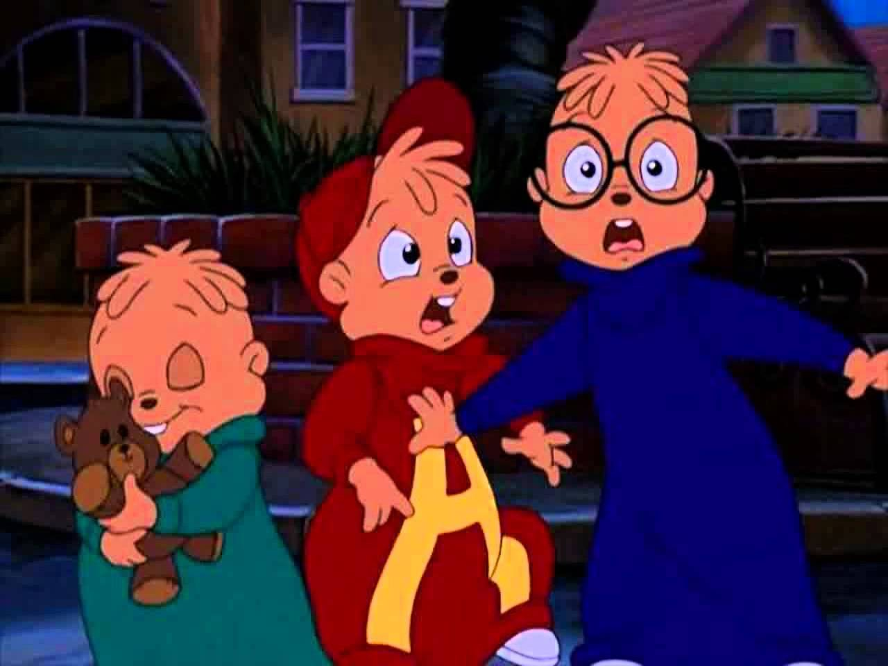 alvin and the chipmunks meet frankenstein things out there