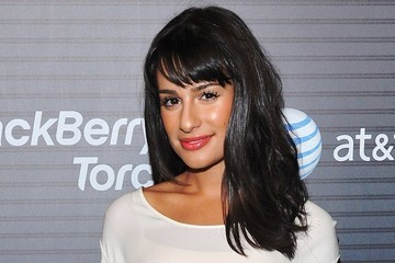 Great Hair Day: Lea Michele's Glossy Tousle