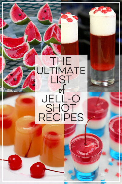 The Ultimate List of Jell-O Shots Recipes
