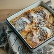 Leftover Bread: Cinnamon + Brown Sugar Baked French Toast