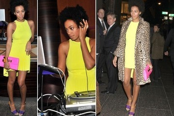 Why It Works: Solange Knowles's Colorfully Cool Style