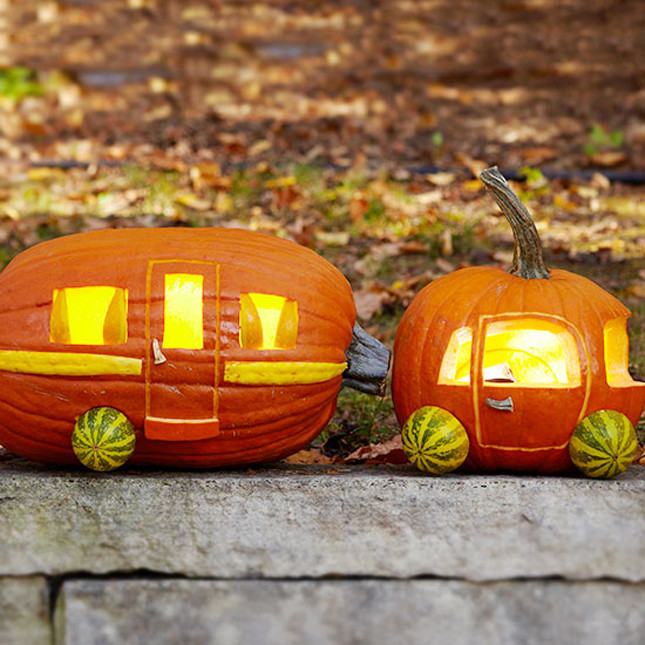 Caravan Pumpkin The Coolest Halloween Pumpkin Carving