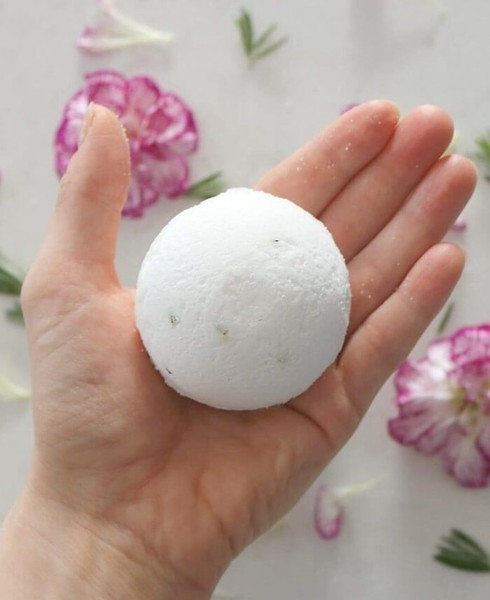 Muscle Relief Bath Bomb Recipe