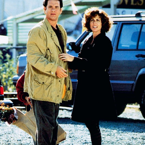 Tom Hanks and Rita Wilson in 'Sleepless in Seattle'