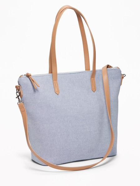Old Navy Chambray Canvas Tote for Women