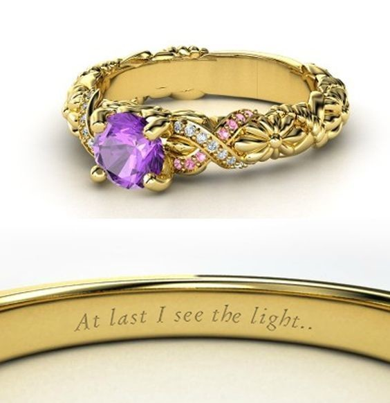 Rapunzel-Inspired Ring