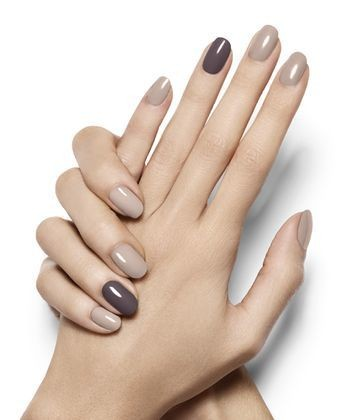 taupe heaven  these neutral nails are the epitome of chic