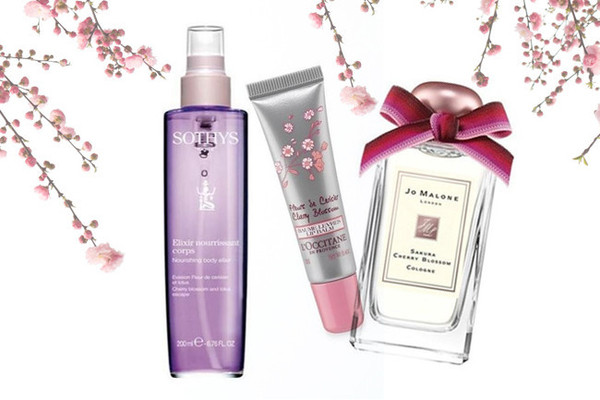 Full Bloom: Cherry Blossom Beauty Products