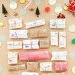 Mini Mail Advent Calendar