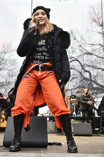 Performing At the 2017 Women's March In Washington, D.C.