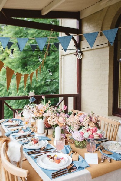 Outdoor Brunch Setup