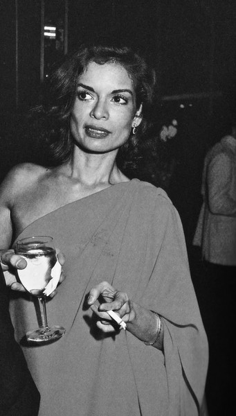 Bianca Jagger's Asymmetrical Dress