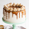 Apple Toffee Crunch Cake