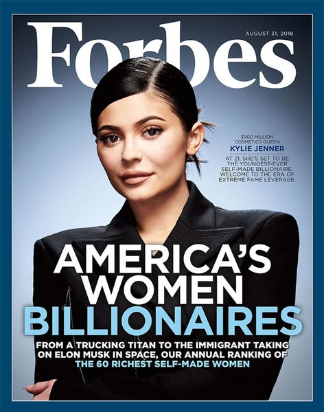 Forbes Says Kylie Jenner Will Be The Youngest Self-Made Billionaire