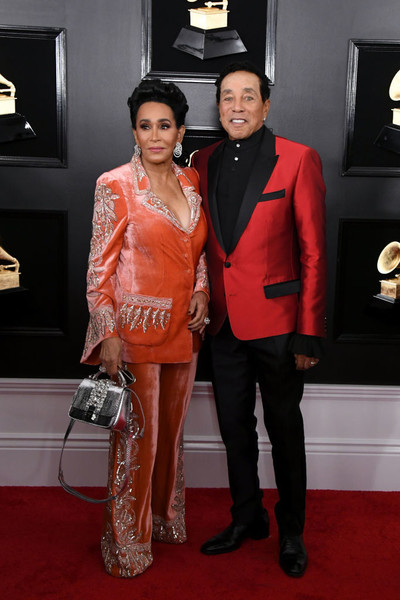 Smokey Robinson And Frances Gladney