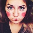 Simple Clown Makeup