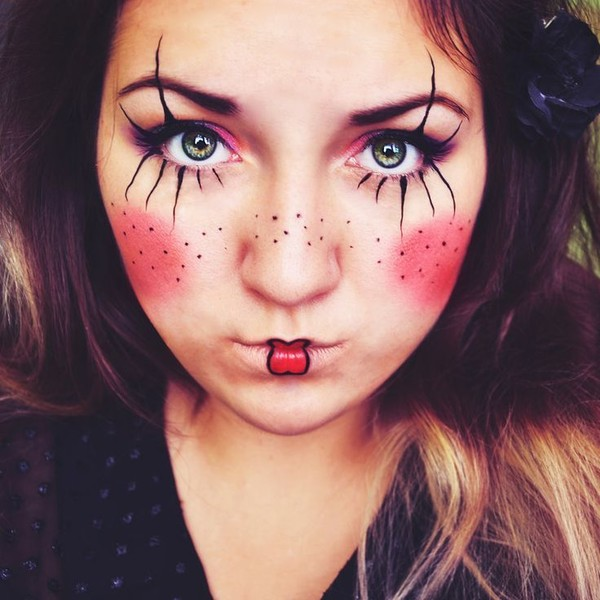 Halloween Makeup Clown Easy.Partial Clown Makeup Every Kind Of Clown Makeup You D Possibly
