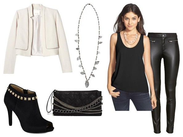 An Edgy Romantic Outfit Like Emily VanCamp's on 'Revenge'
