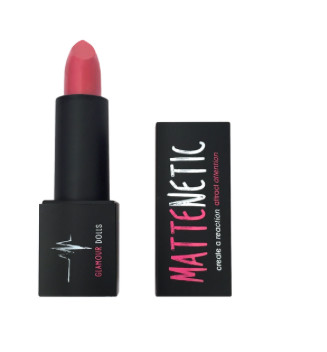 Glamour Dolls Mattenetic Lipstick in Power
