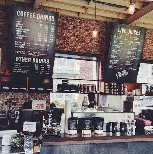 KANSAS: Filling Station Coffee in Midtown