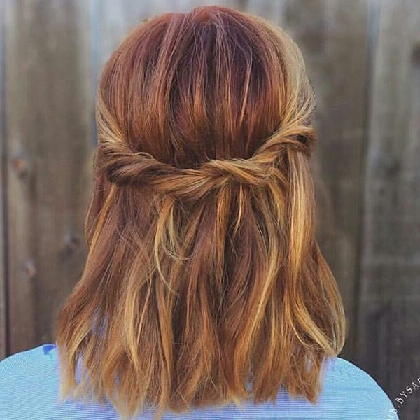 Try Pumpkin Spice Hair Color