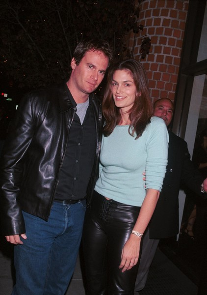 Cindy Crawford and Rande Gerber Then