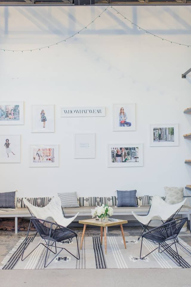 The ultra-chic WhoWhatWear Lounge at C + C Dallas