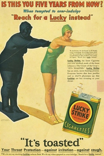 1925: Cigarettes As Appetite Suppressors